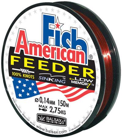 Леска BALSAX American Fish 150м 0,14 (2,75кг)Леска монофильная<br>Леска American Fish дополнительно защищена <br>кевлоновой оболочкой, которая значительно <br>повышает сопротивляемость лески при сильных <br>и резких рывков рыбы. Маскирующий цвет лески <br>позволяет использовать ее как для ловли <br>с поплавком, так и для спиннинга.<br><br>Сезон: лето