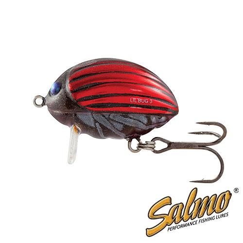 Воблер Плавающий Salmo Lilbug F 02/bbgВоблеры<br>Воблер плав. Salmo LILBUG F 02/BBG пласт./расцв.BBG/дл.20мм/спиннинг <br>Вид приманки – крэнкбейт В ассортименте <br>Salmo с – 2014 Предлагаемый размер (см) – 2 и <br>3 Предлагаемые типы – F Предлагаемое количество <br>расцветок – 5 Рекомендуемый метод ловли <br>– СПИННИНГ Рекомендуется для ловли – голавля, <br>язя, жереха, форели, окуня Lil Bug - это поверхностный <br>воблер, так называемый трассер. Как видно <br>из названия, он привлекает рыбу, оставляя <br>на поверхности воды хорошо заметный след. <br>Это позволяет хищнику заметить приманку <br>даже в мутной воде. Внутри тела приманки <br>(3-х сантиметровой версии) установлена специальная <br>система дальнего заброса SALMO INFINITY CAST SYSTEM <br>(SICS), которая позволяет забрасывать его <br>на большое расстояние, давая рыболову возможность <br>дотянуться до самых удалённых участков <br>водоёма. Lil Bug оснащён невероятно острыми <br>и прочными тройниками, разработанными в <br>Японии. Этот воблер прежде всего ориентирован <br>на ловлю голавля, язя и жереха, однако также <br>может с успехом применяться для других <br>хищ<br><br>Сезон: лето