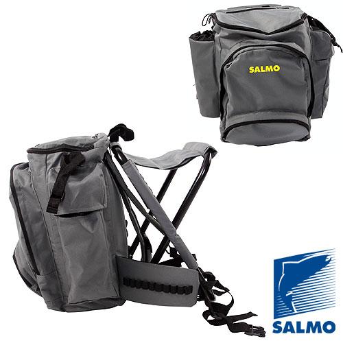 Стул-Рюкзак Salmo Back Pack С Карманом На МолнииРюкзаки<br>Стул-рюкзак Salmo BACK PACK с карманом на молнии <br>стул-рюкзак/разм.36х60см/выс.45см/нагр.120кг/с <br>карманом на молнии Любителям активной рыбалки, <br>тем, кому предстоит поиск рыбы на крупном <br>водохранилище или озере с долгими переходами, <br>а также любителям комфорта предлагается <br>ассортимент стульев–рюкзаков и стульев-сумок <br>SALMO.<br><br>Пол: унисекс<br>Сезон: Всесезонный