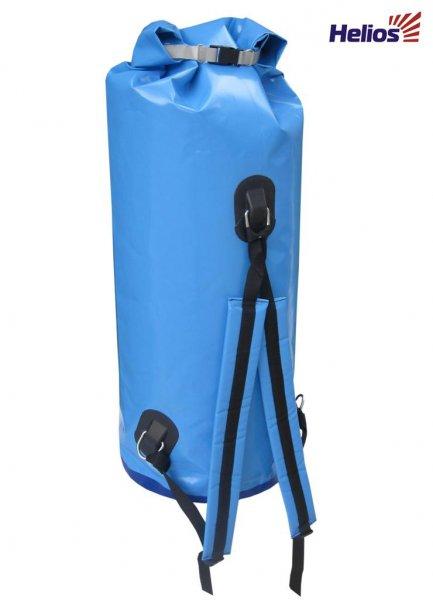 Драйбег 70л с лямками хаки HELIOSРюкзаки<br>Герморюкзак (драйбег) объемом 70 литров <br>(с лямками) позволяет надежно защитить Ваши <br>вещи и документы от попадания влаги. Закрываются <br>герметично. Удобен в водных походах. Благодаря <br>удобным рюкзачным лямкам можно переносить <br>герморюкзак на дальние расстояния. Изготовлен <br>из водонепроницаемого материала - ПВХ 630 <br>г/м2. Цвет: голубой, желтый, хаки.<br>