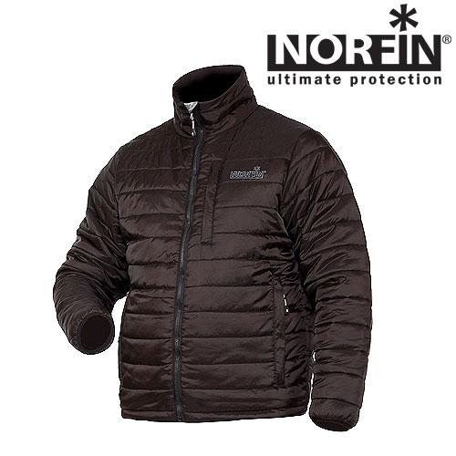 Куртка Зимняя Norfin Air (L, 353003-L)Куртки утепленные<br>Куртка зим. Norfin AIR 01 р.S разм.S/мат.полиэстер <br>Демисезонная куртка современного дизайна <br>с утеплителем THINSULATE, сшита из очень прочного <br>материала NORFIN AIR. Можно носить как верхнюю <br>одежду, а также использовать в качесчтве <br>утеплителя принизких температурах. Куртка: <br>? Ветронепродуваемая ткань ? Один внутренний <br>карман на молнии ? Надежная передняя застежка-молния <br>? Легкий материал ? три наружных кармана <br>на молниях ? Высокий воротник ? Фиксатор, <br>стягивающий низ куртки Утеплитель Thinsulate <br>(100% полиэстр)<br><br>Пол: мужской<br>Размер: L<br>Сезон: зима<br>Цвет: черный