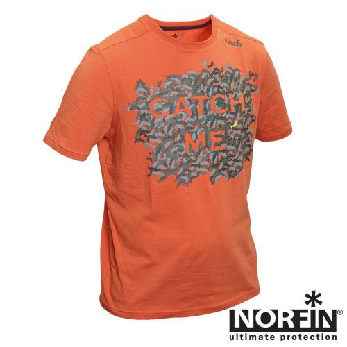 Футболка Norfin Catch Me (XL, 682004-XL)Футболки к/рукав<br>Мужская футболка с коротким рукавом идеально <br>подойдет для ношения летом. Особенности: <br>- состав 95% хлопок, 5% Spandex; - яркий цвет.<br><br>Пол: мужской<br>Размер: XL<br>Сезон: лето<br>Цвет: оранжевый<br>Материал: хлопок