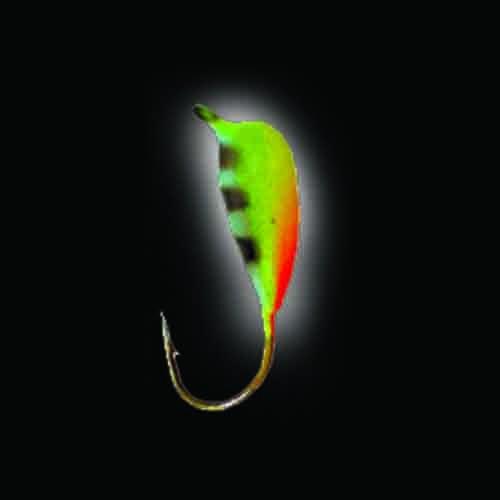 Мормышка Вольфрамовая Salmo Нимфа С Петел. Мормышки, джиг-головки зимние<br>Мормышка вольф. Lucky John НИМФА с петел. и люминофор. <br>040/Bi диам.040мм/разм.крючка 14/вес 0,72г/расцв.Bi/кол.в <br>уп.5 Между петелькой и крючком, в верхней <br>части мормышки имеется лыска, что придаёт <br>приманке форму, похожую на нимфу и улучшает <br>зацепистость. Эти мормышки имеют наружное <br>покрытие японским светящимся составом, <br>с нане сенным поверху рисунком. В темноте, <br>в зависимости от количества полученного <br>подзарядкой света, мормышка продолжает <br>своё привлекающее свечение до двух часов.<br><br>Сезон: зима<br>Материал: Вольфрам