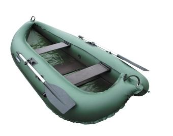 Лодка ПВХ Компакт-260 гребная (С-Пб) (цвет  серый) моторно гребная надувная лодка aqua storm stm 260 34 green