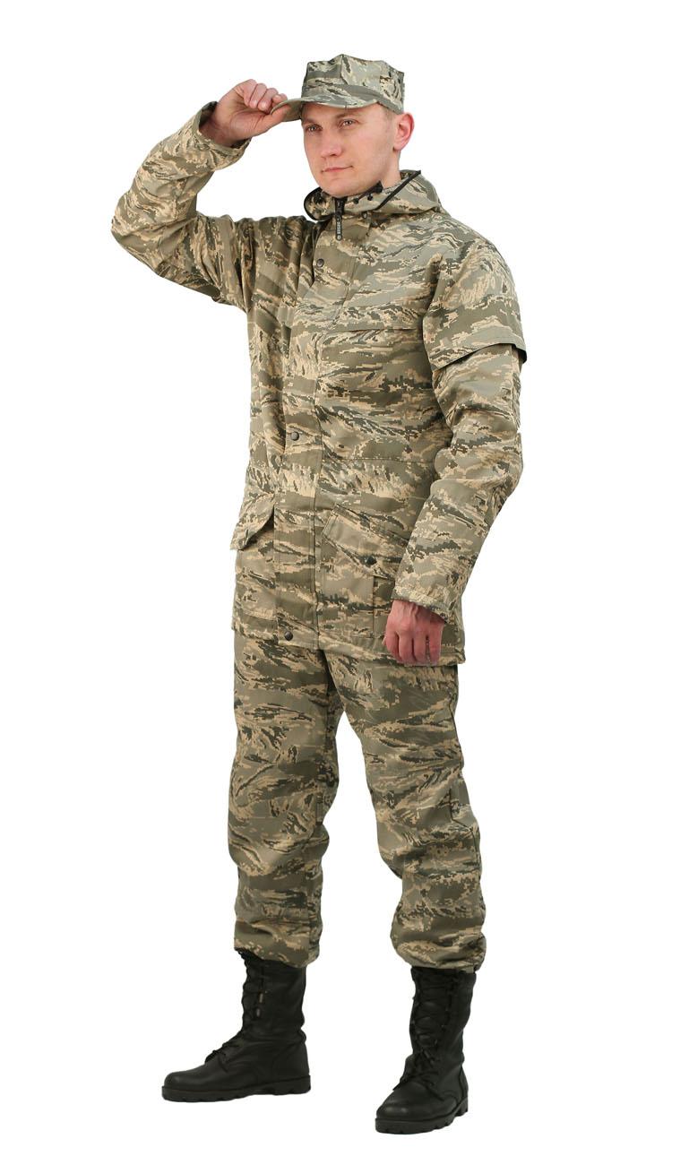 Костюм мужской Gerkon Raptor летний кмф пустыня Костюмы противоэнцефалитные<br>Костюм куртка, брюки Модельные особенности: <br>- антимоскитный костюм - капюшон сложной <br>конструкции, полностью исключающей проникновение <br>насекомых под одежду; - противомоскитная <br>сетка отстегивается и убирается в карман, <br>расположенный на капюшоне; - карманы с наклонным <br>входом и фигурными клапанам, застегивающимися <br>на кнопки; - рукава оснащены внутренними <br>трикотажными манжетами; - усиления в области <br>локтей и коленей; - регулировка по низу куртки <br>и низу брюк; - пояс брюк на резинке со шлёвками; <br>- боковые карманы; - по низу брюк пуфта.<br><br>Пол: мужской<br>Размер: 60-62<br>Рост: 170-176<br>Сезон: лето<br>Цвет: бежевый<br>Материал: Смесовая, пл. 210 г/м2,