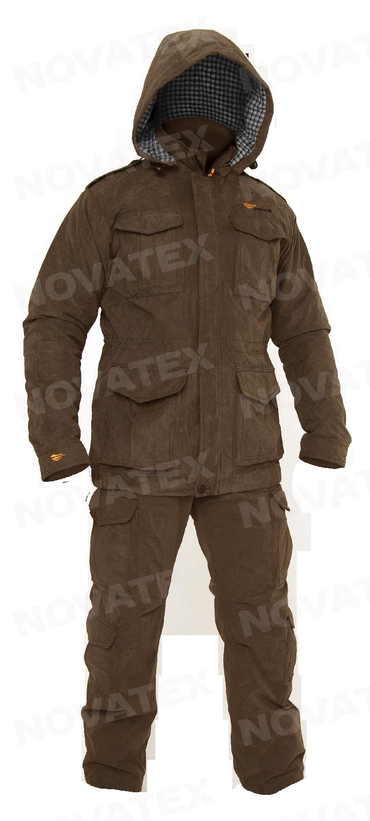 Костюм «Шутер» (финляндия, орех) PRIDE (44-46 Костюмы утепленные<br>Костюм «Шутер» (ТМ PRIDE) –является дальнейшим <br>развитием костюма «Нато», разработанного <br>в лаборатории экипировки Novatex. Этот удобный <br>универсальный костюм анатомического кроя <br>изготовляется из современной мембранной <br>ткани «Финляндия», утеплитель «Сиберия» <br>гарантирует комфортную температуру в любых <br>условиях (в рамках рекомендуемых температур). <br>Костюм «Шутер» рекомендуется для охотников, <br>рыбаков, туристов, любителей военно-спортивных <br>игр и силовых структур.<br><br>Пол: мужской<br>Размер: 44-46<br>Рост: 170-176<br>Сезон: демисезонный<br>Цвет: коричневый