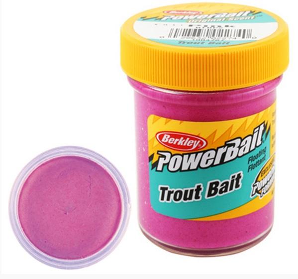 Паста форелевая Berkley NATURAL SCENT TROUT BAIT 50gr PINK Насадки<br>Легко лепится и проста в использовании. <br>Паста не тонет и испускает аромат, привлекая <br>рыбу издалека.<br>