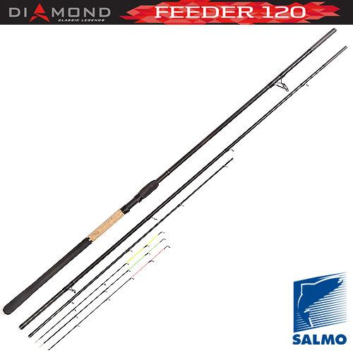 Удилище Фидерное Salmo Diamond Feeder 120 3.90 4022-390