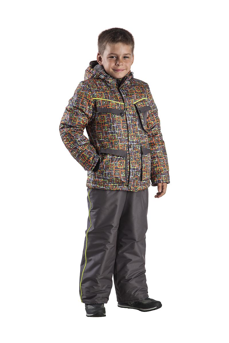 Костюм зимний детский Лего-1 (122)Костюмы утепленные<br>Костюм с капюшоном и светоотражающими <br>кантами. Состоит из куртки и полукомбинезона <br>с регулируемыми эластичными лямками. Куртка <br>с внутренними трикотажными манжетами Верхняя <br>ткань – Дюспофлис, полиэстер 100% Подкладка <br>— полиэстер 100% Утеплитель– синтепон, 200гр./кв.м. <br>Температурный режим: от -2 до -10°С<br><br>Рост: 122<br>Сезон: зима<br>Материал: Дюспофлис, полиэстер 100%
