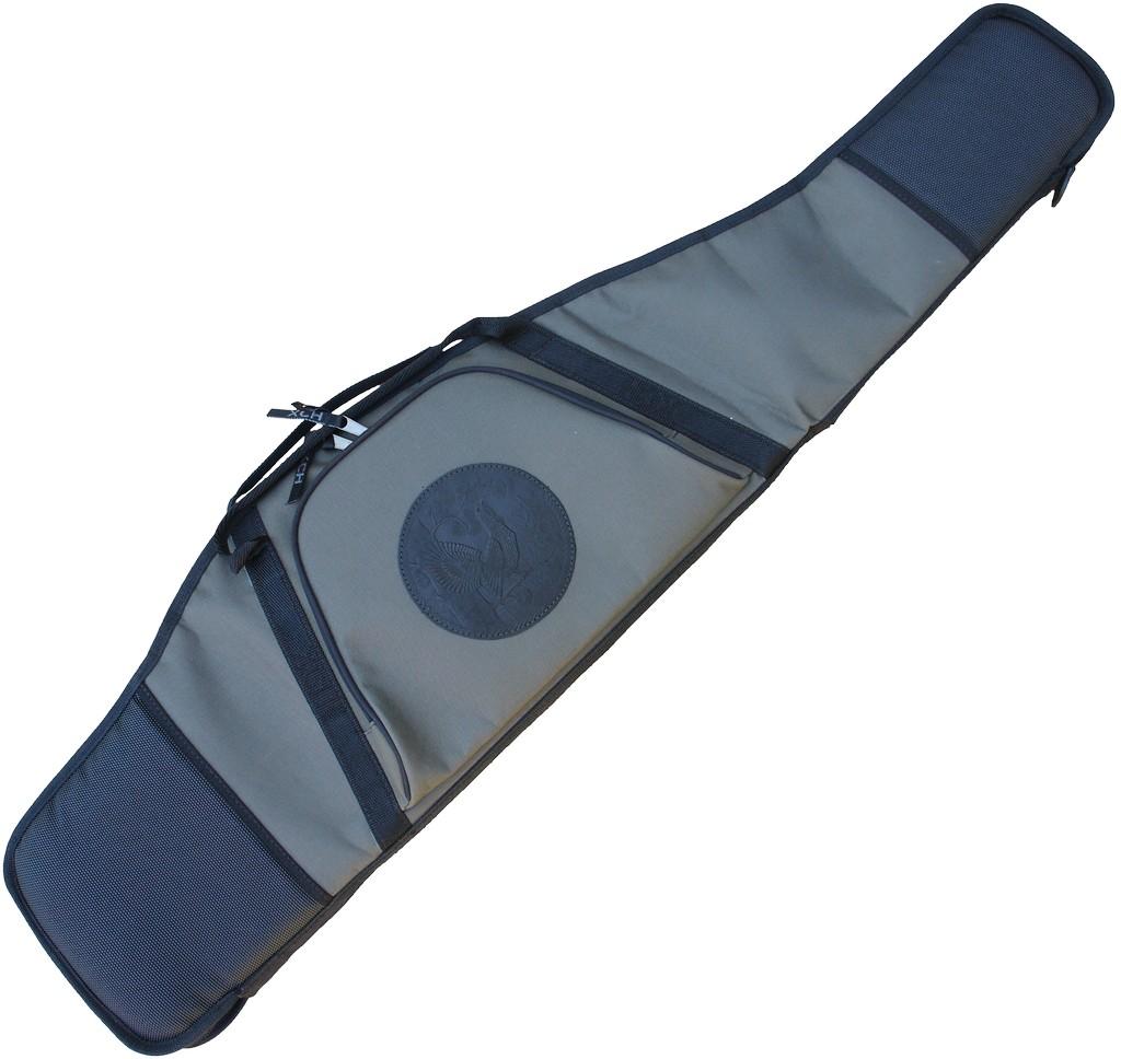 Чехол ружейный папка «Люкс» с оптикой (130 Чехлы для оружия<br>Предназначен для хранения и транспортировки <br>оружия в собранном виде. Особенности: - простая <br>и удобная конструкция; - выполнен из прочной <br>износостойкой ткани; - 1 большой карман на <br>лицевой части чехла; - дополнительная вставка <br>под затвор, чтобы не повредить подклад чехла; <br>- полукольцо для вертикального подвешивания <br>чехла.<br><br>Пол: мужской<br>Сезон: все сезоны<br>Цвет: серый<br>Материал: Ткань Oxford