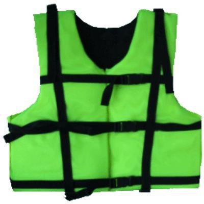 Жилет спасательный Каскад-1 р.48-52 (оранж.)Спасательные жилеты<br>Описание модели: Предназначен для использования <br>при проведении работ на плавсредствах, <br>для водных видов спорта, рыбалки, охоты. <br>Жилет является индивидуальным страховочным <br>средством, регулируется по фигуре человека <br>при помощи системы строп. Оснащен воротником, <br>светоотражающими полосами, свистком. Ткань <br>верха: Oxford Внутренняя ткань: Taffeta Наполнитель: <br>плавучий НПЭ. Размер: 48-52 Цвет: оранжевый <br>Застежка: фастекс / пластик Рекомендуемый <br>вес на человека не более (по размерам): 48-52 <br>– 80 кг.<br>