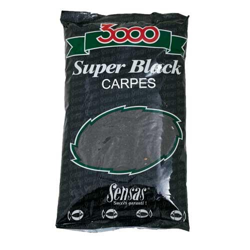 Прикормка Sensas 3000 Super Black Carp 1КгПрикормки<br>Прикормка Sensas 3000 Super BLACK Carp 1кг карп/черная/ср.помол/универсальная/уп.1кг <br>Эта прикормка состоит из фракций небольшого <br>размера и обладает достаточной вязкостью. <br>Благодаря сбалансированному запаху, добавленных <br>в ее состав ароматических добавок, способствует <br>привлечению рыбы в точку ловли.<br><br>Сезон: лето