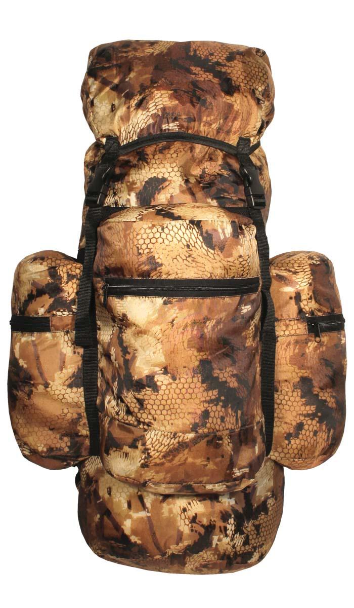 Рюкзак Рейд 80л Оксфорд 240 цвет лесРюкзаки<br>Рюкзак для рыбалки, охоты и активного отдыха. <br>Практичный, прочный и удобный в эксплуатации, <br>с плавающим верхним клапаном. Его основной <br>объем и три больших кармана на молнии вместят <br>все необходимое для снаряжения. Сигарообразная <br>форма и широкие анатомические лямки делают <br>рюкзак комфортным в эксплуатации. Съёмный <br>верхний клапан даёт возможность укладки <br>спальника, палатки Технические характеристики: <br>Мягкие регулируемые лямки анатомической <br>формы Одно большое отделение для снаряжения <br>с утягивающимся входом Съёмный верхний <br>клапан Три объёмных кармана на молнии Регулировка <br>высоты клапана при помощи строп Усилительные <br>стропы<br><br>Пол: унисекс