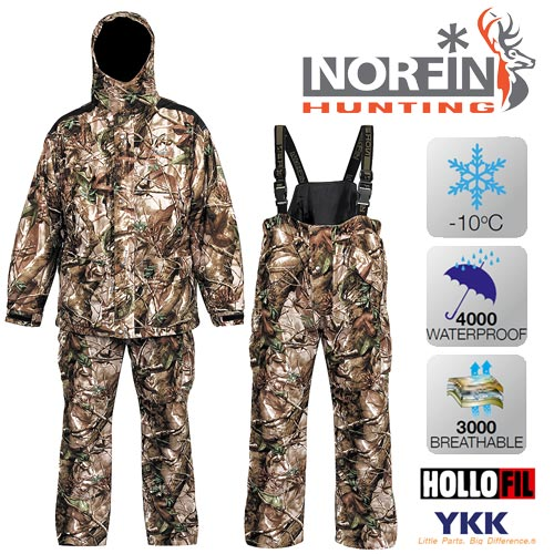 Костюм Зимний Norfin Hunting Game Passion Green