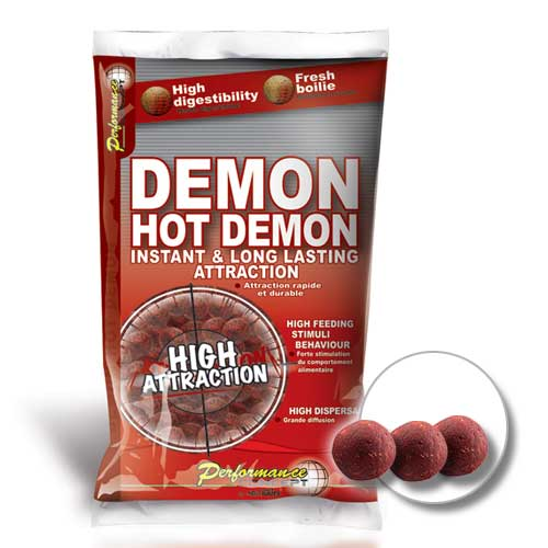 Бойли Тонущие Starbaits Performance Concept Hot Demon Long Life Boilies 20Мм 2.5Кг