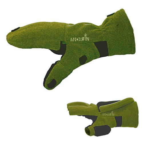 Перчатки-Варежки Norfin Cesium Ветрозащ. Отстег. 701103
