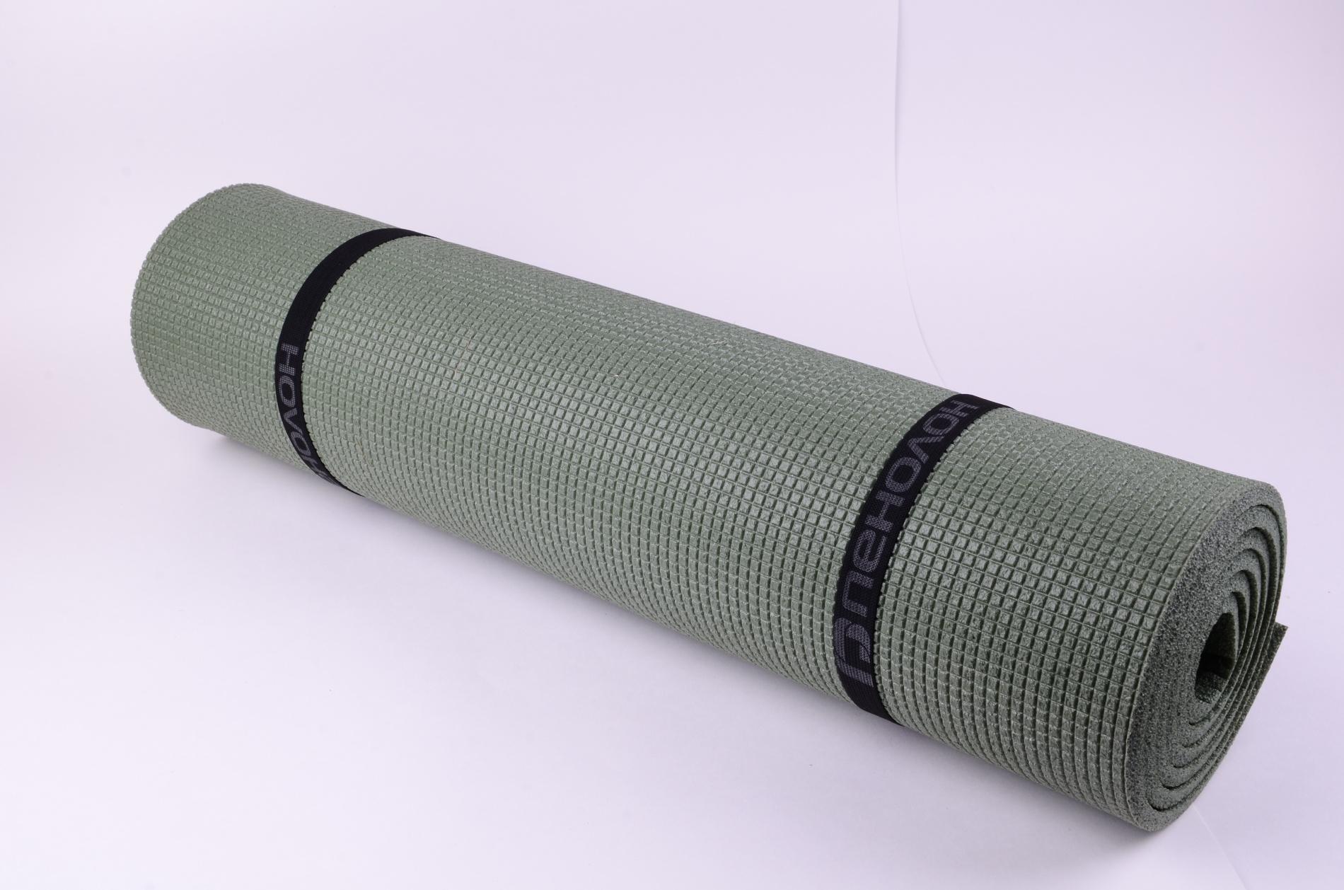 Коврик туристический пенолон 1800*600*8 цв.серый КОВ102