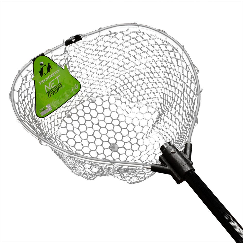 Подсачек Tsuribito Net Trap Fold, длина 150см, диам. Подсачеки<br>Универсальный подсак с силиконовой сеткой. <br>Применяется для вытаскивания рыбы без повреждения <br>снастей и самого улова.<br>