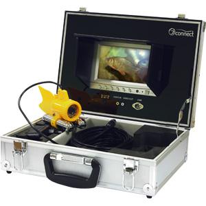 """Подводная камера JJ-Connect Underwater Camera ColorПоводки титановые<br>JJ-Connect Underwater Camera Color - это система видонаблюдения <br>за подводным миром, состоящая из цветного <br>монитора с диагональю 7"""" и подводной камеры. <br>Удобный кейс, в котором оптимально размещены <br>составляющие системы позволяет настроить <br>и использовать кам...<br>"""