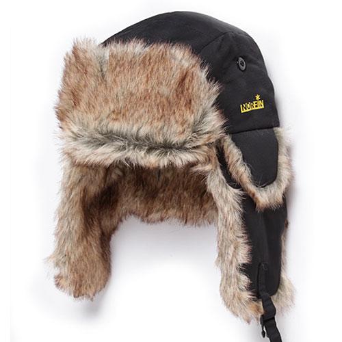 Шапка-Ушанка NorfinШапки-ушанки<br>Шапка-ушанка Norfin мат.полиэстер/цв.чёрн. <br>Шапка-ушанка из полиэстера.<br><br>Пол: унисекс<br>Размер: L<br>Сезон: зима<br>Цвет: черный