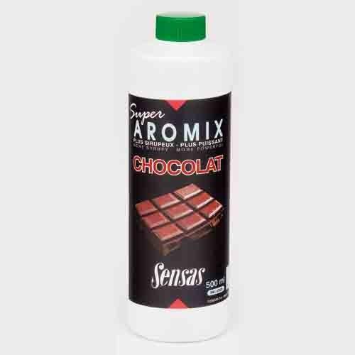 Ароматизатор Sensas Aromix Chocolate 0.5ЛАроматизаторы<br>Ароматизатор Sensas AROMIX Chocolate 0.5л сироп/шоколад/10-25% <br>от объема воды/уп.0,5л Это новая добавка на <br>основе шоколадного сиропа с очень интенсивным <br>ароматом будет хорошей добавкой к вашей <br>прикормке при ловле плотвы и другой белой <br>рыбы.<br><br>Сезон: лето