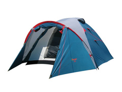 Палатка Canadian Camper KARIBU 4 (цвет royal дуги 9,5 ммl)Палатки<br>Особенности: - увеличенный тамбур; - два <br>входа; - антимоскитные сетки; - большие вентиляционные <br>отверстия.<br><br>Сезон: лето