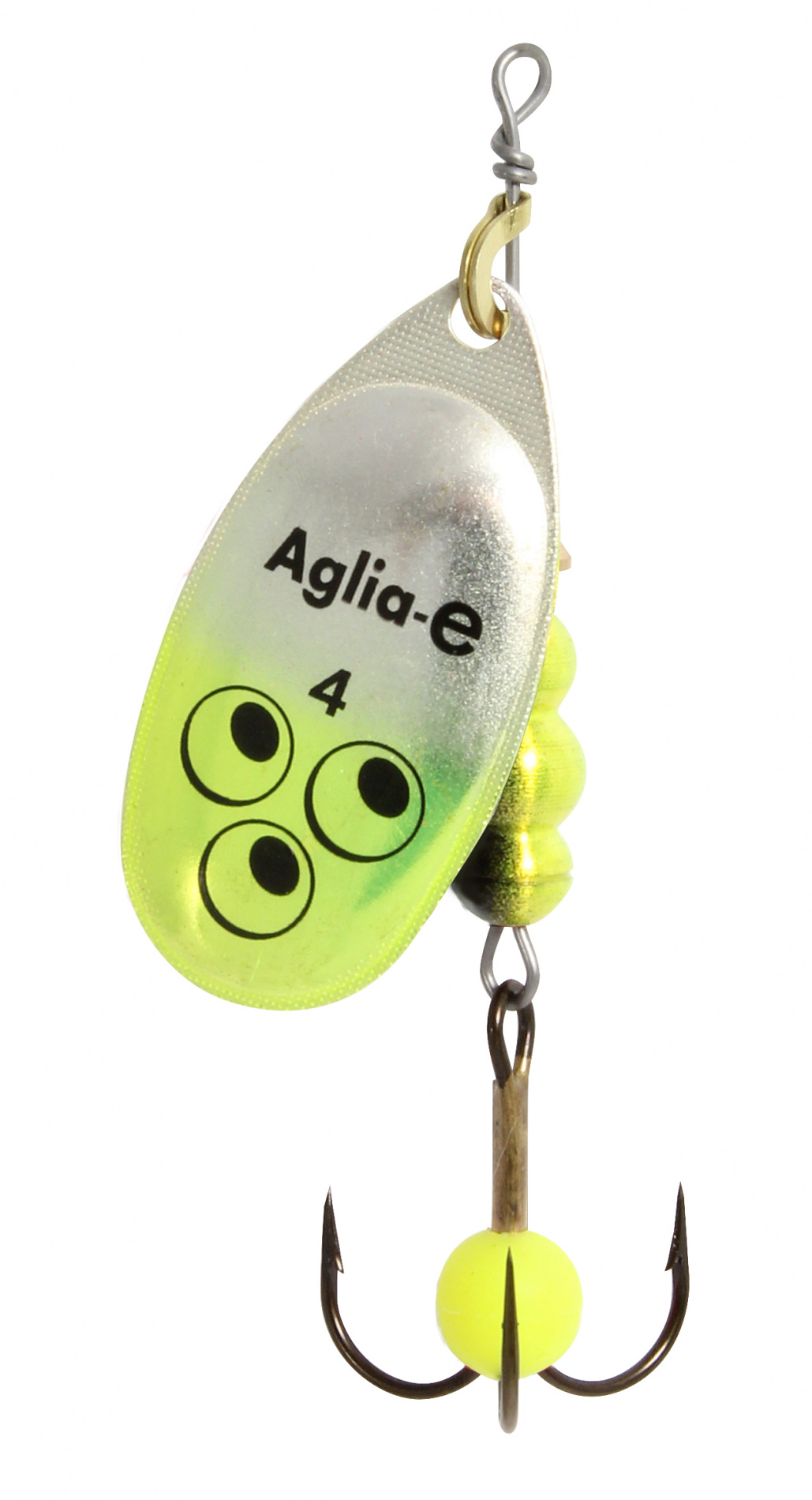 Блесна вращ. MEPPS Aglia E блистер №4 Chartreuse Bright mepps bug