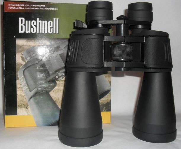 Бинокль Bushnell 10-90х80Бинокли<br>Бинокль переменной кратности Страна производства- <br>Китай Кратность увеличения: 10-90 Диаметр <br>выходной линзы- 80мм<br>