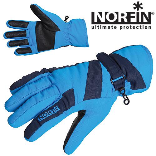 Перчатки Norfin Women Windstop Blue 705063