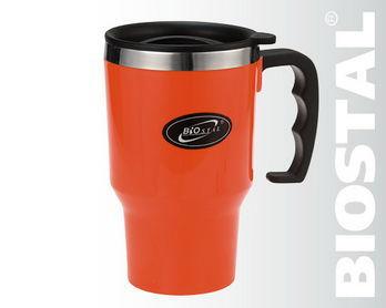 Термокружка Biostal Авто NMP-450P (цветной пластик)Кружки, стаканы<br>В термокружке Biostal 450NMР-Р, чай или кофе дольше <br>сохраняют свой вкус и тепло, а пользоваться <br>ею можно, не боясь обжечься о ее стенки. <br>Термокружка Biostal 450NMР-Р, это вещь, незаменимая <br>в быту, на работе, в дороге и на прогулке. <br>Подарите ее близкому человеку, и она станет <br>ему надежным другом и помощником в жизни.<br>