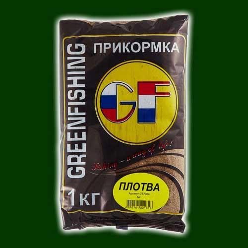Прикормка Gf Плотва 1.000КгПрикормки<br>Прикормка GF ПЛОТВА 1.000кг пакет 1кг/ароматика: <br>подсолнечник+укроп /цвет: шоколадный Фракция <br>прикорма однородная и достаточно ровная <br>100-200 мкм, с хорошим по-фракционным распадом <br>на дне. Цвет прикормки – темно-коричневый, <br>зеленый, рыжий и красный исходя из предпочтения <br>рыб и условий лова. Необходимую клейкость <br>и «темное облако» обеспечивает смесь клеев, <br>на основе бентонита разработанных командой <br>ООО «Энергия» процент содержания клея до <br>2%. В прикормке используются ароматизаторы <br>производства Франции. Состав данной серии <br>защищен патентом РФ.<br><br>Сезон: лето