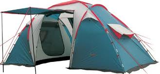 Палатка Canadian Camper SANA 4 (цвет royal дуги 11/9,5 мм)Палатки<br>Особенности: - 2 спальные двухместные комнаты; <br>- 7 вентиляционных окон; - 2 входа с антимоскитными <br>сетками.<br><br>Цвет: синий