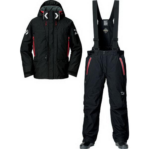 Костюм Daiwa Gore-Tex Product Combi-Up Hi-Loft Winter Suit (Черный) Костюмы утепленные<br>Костюм изготовлен для холодной зимней <br>погоды. В основе лежит флисовый материал, <br>обладающий влагоотводящим свойством и <br>прекрасно сохраняющим тепло внутри.<br>