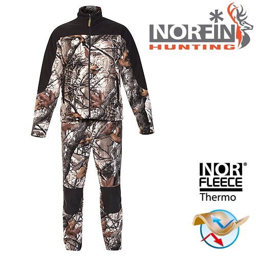 Костюм Флисовый Norfin Hunting Forest Staidness 72800