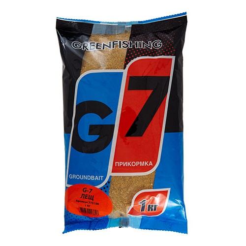Прикормка Gf G-7 Лещ 1КгПрикормки<br>Прикормка GF G-7 ЛЕЩ 1кг пакет 1кг/ароматика:специальная/цвет:светлый/кратн. <br>короба 16шт. «G-7» - Новая линия недорогих <br>и качественных ароматизированных прикормов, <br>имеет сбалансированный состав, отличную <br>ароматизацию и самые популярные у рыболовов <br>ароматы. Идеально подходит для использования <br>на не запрессованных водоемах, где не имеет <br>смысла переплачивать за дорогие добавки <br>и ингредиенты. Рекомендуется использовать <br>как отличное дополнение к «старшим» сериям, <br>таким как GF, Salapin, Prime и Energy.<br><br>Сезон: лето