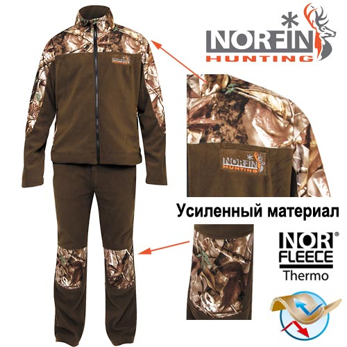 Костюм Флисовый Norfin Hunting Forest 72300