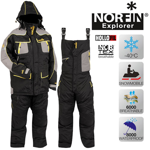 Winter suit Norfin Snowflake - YouTube