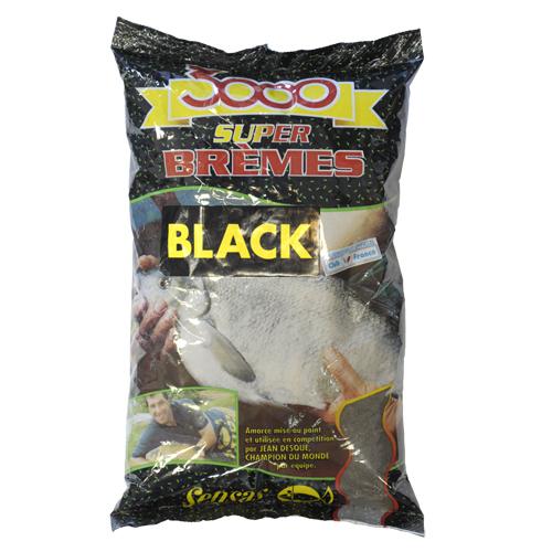 Прикормка Sensas 3000 Bremes Noir 1КгПрикормки<br>Прикормка Sensas 3000 Super BREMES Noir 1кг черная/уп.1кг <br>Версия прикормки 3000 Super BREMES черного цвета. <br>Эффективна при ловле в холодной воде.<br><br>Сезон: лето