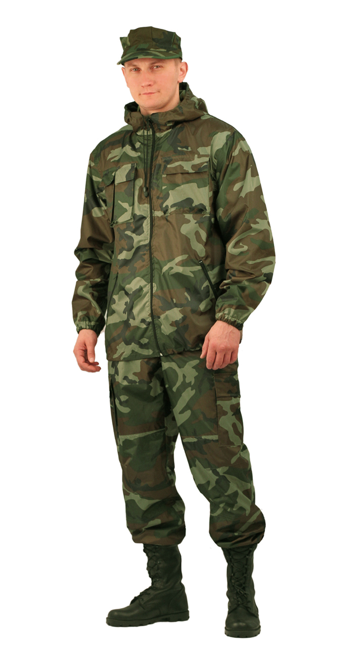 Костюм мужской Турист летний кмф Нато Костюмы неутепленные<br>Камуфлированный унверсальный летний костюм <br>для охоты, рыбалки и активного отдыха . Состоит <br>из удлинённой куртки с капюшоном и брюк. <br>Куртка: • Регулируемый капюшон. • Центральная <br>застежка молния. • Нагрудные объемные накладные <br>карманы и боковые прорезные карманы на <br>молнии. • Манжеты на резинке. • Для большего <br>комфорта имеется вентиляция: спинка с отлетной <br>кокеткой, под проймой вентиляционные отверстия <br>из сетки Брюки •Гульфик брюк на молнии. <br>На поясе брюк вставки из эластичной ленты. <br>•Низ штанин регулируется эластичным шнуром. <br>•Удобные объёмные боковые карманы • Фукциональная <br>сумка для хранения костюма. ДЛЯ БОЛЕЕ НАДЁЖНОЙ <br>ЗАЩИТЫ ОТ ПРОТЕКАНИЯ ВСЕ ШВЫ ПРОКЛЕЕНЫ<br><br>Пол: мужской<br>Размер: 56-58<br>Рост: 182-188<br>Сезон: лето<br>Материал: «Оксфорд» (100% полиэфир), пл. 110 г/м2