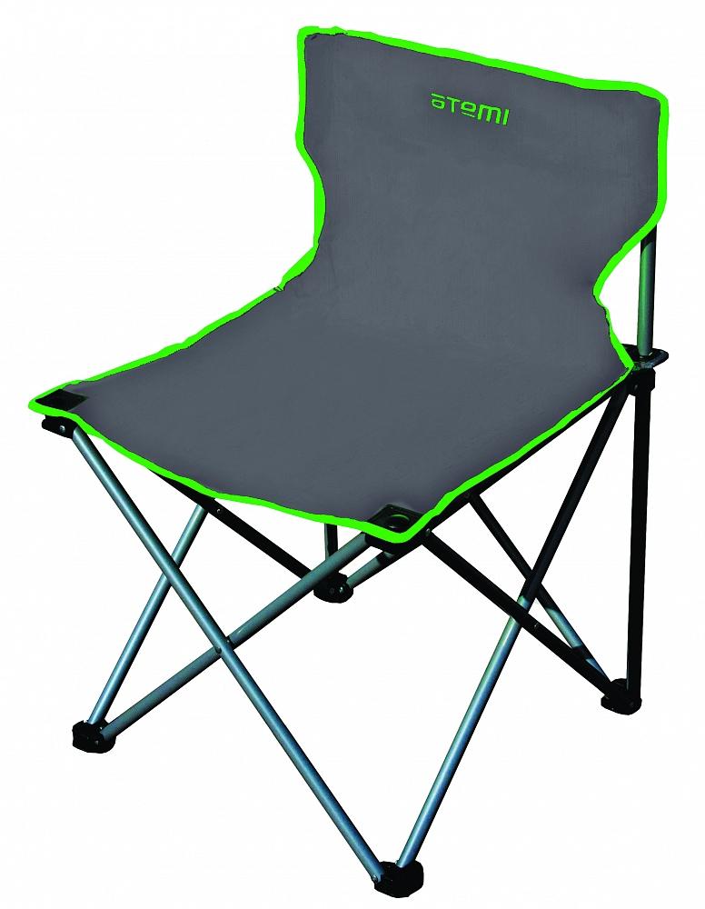 Кресло туристическое AFC-620 AtemiСтулья, кресла<br>Складное кресло без подлокотников Материал <br>конструкции: сталь Ф16 мм; Материал сидения: <br>полиэстер 600D; Размер: 51x51x73 см; Чехол: 210D Допустимая <br>нагрузка: 100кг. Вес: 2,5 кг Объем упаковки: <br>0,007м3<br><br>Цвет: зеленый