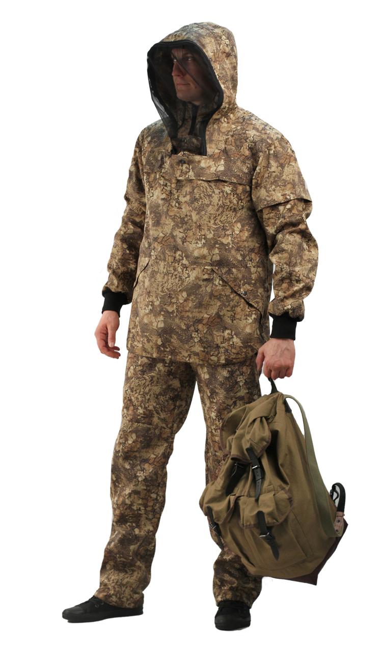 Костюм противоэнцефалитный летний, тк. Костюмы противоэнцефалитные<br>Куртка и брюки. Куртка - с регулируемым <br>капюшоном , - со съемной вставкой из противомоскитной <br>сетки на молнии, - с накладными карманами <br>с клапаном на кнопках. - складки-ловушки <br>на груди и рукавах - рукава с трикотажными <br>напульсниками. - с налокотниками. - низ куртки <br>на эластичной резинке с фиксатором Брюки <br>- прямые с эластичной лентой в притачном <br>поясе со шлевками, - верхними внутренними <br>карманами на кнопках. - с эластичным шнуром <br>на фиксаторе по низу брюк. - с наколенниками<br><br>Пол: мужской<br>Размер: 60-62<br>Рост: 182-188<br>Сезон: лето