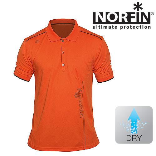 Рубашка Поло Norfin Orange (XL, 671004-XL)Поло<br>Рубашка поло Norfin ORANGE, цв.оранж. Классическая <br>летная модель рубашки для активного отдыха <br>и повседнев- ной носки, сшитая из легкого <br>и быстро высыхающего материала<br><br>Пол: мужской<br>Размер: XL<br>Сезон: лето<br>Цвет: оранжевый<br>Материал: текстиль