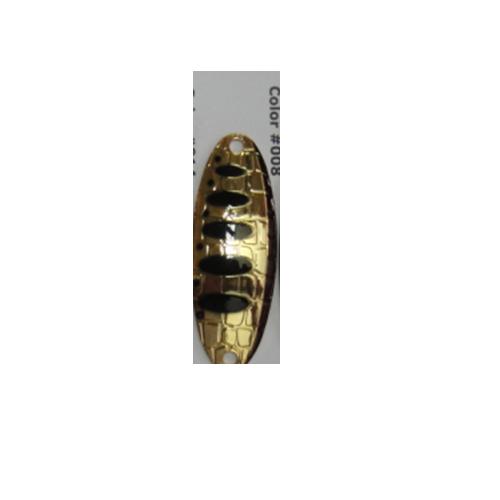 Блесна Колеблющаяся Lucky John Croco Spoon Shallow Water Блесны колеблющиеся<br>Блесна колеб. Lucky John CROCO SPOON SHALLOW WATER CONCEPT 15.0г <br>008 мод.CROCO SPOON SHALLOW WATER CONCEPT/вес 15,0г/расцв.008 <br>CROCO SPOON SHALLOW WATER CONCEPT - серия легких колеблющихся <br>блесен предназанченных для ловли на мелководье. <br>Основное предназначение - поиск активной <br>рыбы на больших площадях. SHALLOW WATER CONCEPT разработаны <br>в двух размерах. Их вес составляет: 10 и 15 <br>грамм. Отличительной чертой блесен является <br>отличное качество покрытия, которое очень <br>устойчиво к истиранию и уловистость. Кроме <br>очень эффективной обыкновенной равномерной <br>проводки, мы бы рекомендовали делать остановки <br>и паузы, давая блесне погрузится на дно. <br>Большое количество поклевок рыбы случается <br>именно на момент свободного планирования <br>блесны.<br><br>Сезон: лето