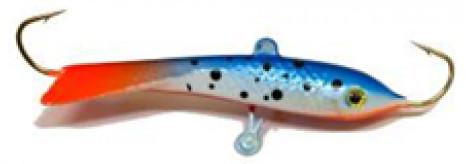 Балансир DIXXON CLASSIC голография ( цвет 25 ) 21 Балансиры<br>Классический балансир для ловли со льда. <br>При покраске применяется голографическое <br>нанесение. Оснащен высококачественными <br>впаянными крючками пр-во Корея. Подвесной <br>тройник MUSTAD с каплей. Застежка - MARUTO (Япония)<br>