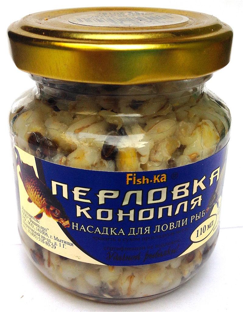 Перловка - конопля консервир. 110 мл медНасадки<br><br>