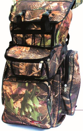 Рюкзак рыболовный SWD 70л+ сумка на пояс (кмф Рюкзаки<br>Многофункциональный рюкзак объемом 70л <br>предназначен в первую очередь для рыболовов. <br>Удобная конструкция делает его практичным <br>и надежным. Сшит из ткани Oxford 600D PU RipStop, не <br>впитывающей влагу. Снабжён 3-мя большими <br>наружными карманами, обеспечивающими быстрый <br>и удобный доступ к часто используемым предметам <br>и верхний плавающий карман - клапан для <br>мелочей. Дополнительно комплектуется съемной <br>сумкой на пояс. Цвет - кмф лес.<br><br>Пол: унисекс