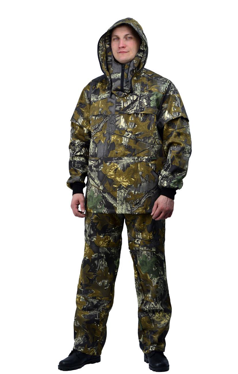 Костюм противоэнцефалитный летний, тк. Костюмы противоэнцефалитные<br>Костюм состоит из куртки и брюк Куртка <br>- с регулируемым капюшоном , - со съемной <br>вставкой из противомоскитной сетки на молнии, <br>- с накладными карманами с клапаном на кнопках. <br>- складки-ловушки на груди и рукавах - рукава <br>с трикотажными напульсниками. - с налокотниками. <br>- низ куртки на эластичной резинке с фиксатором <br>Брюки - прямые с эластичной лентой в притачном <br>поясе со шлевками, - верхними внутренними <br>карманами на кнопках. - с эластичным шнуром <br>на фиксаторе по низу брюк. - с наколенниками<br><br>Пол: мужской<br>Размер: 52-54<br>Рост: 170-176<br>Сезон: лето<br>Цвет: коричневый