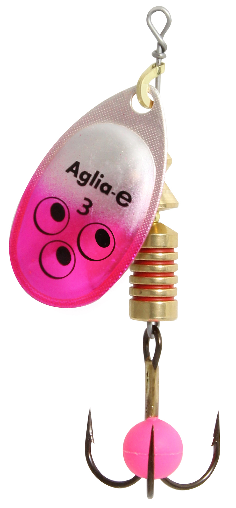 Блесна вращ. MEPPS Aglia E №3 Pink Bright (12шт)Блесны<br><br>