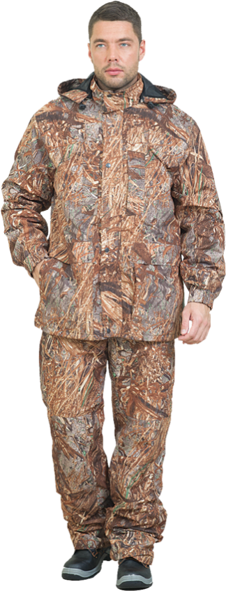 Костюм Sobol БЕКАС, КМФ осока (52-54, 170-176)Костюмы утепленные<br>Костюм разработан специально для любителей <br>активного отдыха, охоты и рыбалки. В куртке <br>и брюках имеется съемная флисовая подстежка, <br>которую можно носить отдельно. Изготовлен <br>из мембранной ткани, которая прекрасно <br>защитит от ветра и дождя. В комплект входит <br>куртка и брюки. КУРТКА: - застегивается на <br>молнию с ветрозащитным клапаном на кнопках; <br>- нагрудные карманы, застегивающиеся на <br>молнию; - нижние накладные карманы с двумя <br>входами; - регулировка объема с помощью <br>шнура внизу; - эластичные манжеты; - регулируемый <br>съемный капюшон. БРЮКИ: - эластичный пояс; <br>- увеличенная к среднему шву ширина пояса <br>для надежной защиты поясницы от холода <br>и ветра; - застежка - гульф на тесьму-молнию; <br>- боковые и задние карманы; - шлевки под ремень; <br>- возможность регулировки ширины брюк с <br>помощью шнура.<br><br>Пол: мужской<br>Размер: 52-54<br>Рост: 170-176<br>Сезон: демисезонный<br>Цвет: бежевый