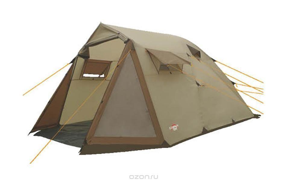 Палатка кемпинговая CAMPACK-TENT Camp Voyager 4 палатка трехместная campack tent breeze explorer 3